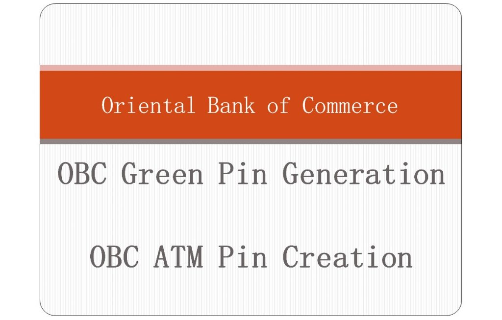 obc atm pin